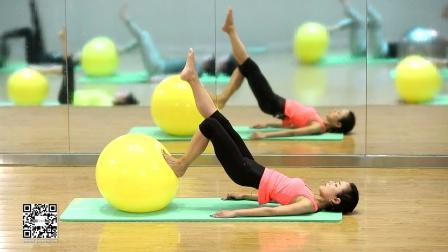 【健身宅计划】瑜伽球-高级-迪卡侬Domyos动悦适-免费在线健身视频(2015)