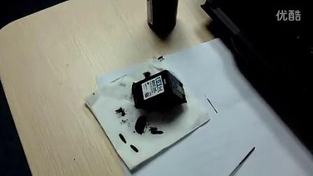 惠普佳能墨盒加墨教程适合带喷头墨盒