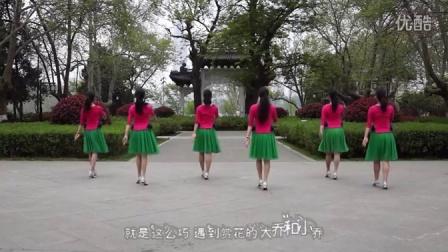 花与影广场舞《丫山迷歌》