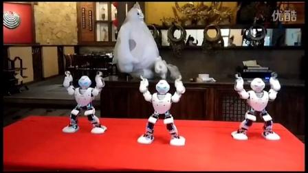成都欢天寨机器人餐厅