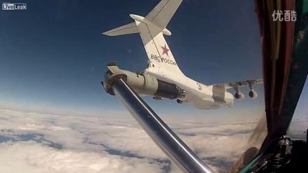 米格31猎狐犬截击机空中加油