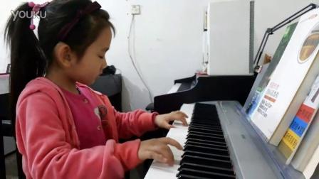 瓜沥钢琴老师 海蓝琴行学员潘项楠