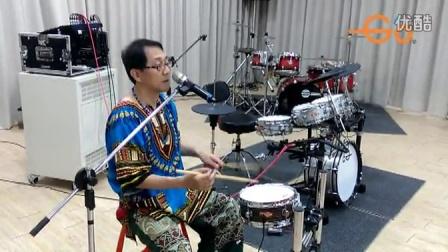 台湾 Goedrum 鼓动电鼓 Je6-Plus 电鼓 架子鼓 演示 20150418 屏东讲座2-1