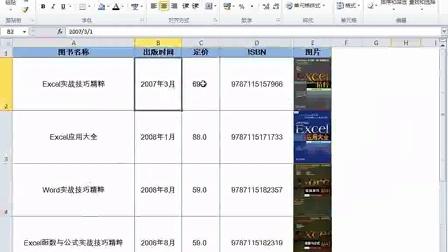 使用名称动态引用图片_Excel2010函数与公式实战技巧精粹