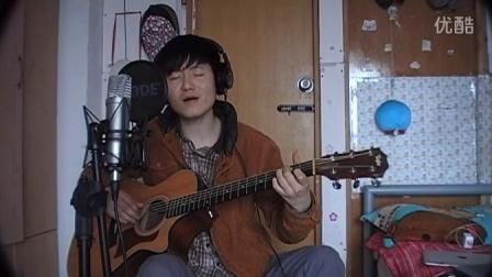 .蔡盛 吉他弹唱 原创 卖艺少年