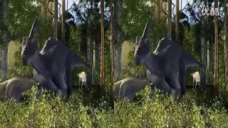 3D电影左右格式(出屏极致)赏心悦目-魔镜测试片