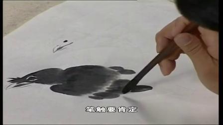国画柿子的画法写意马国画技法视频