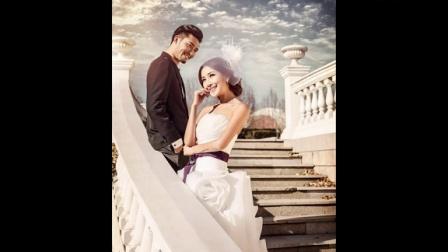 北京婚纱摄影黑白婚纱照【V视觉】工作室