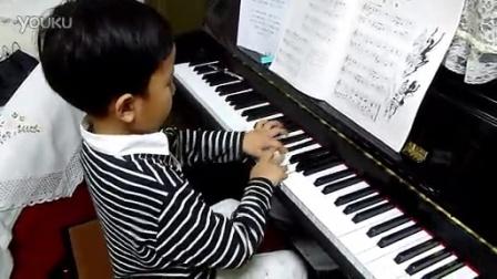 钢琴练习·小汤普森第三册·影子舞·李昊泽