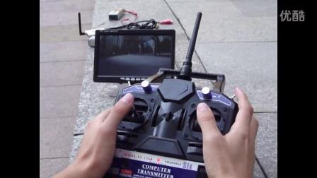AS-6WD无线监控越野平台演示视频