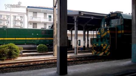 上局宁东段ND5机车整备作业