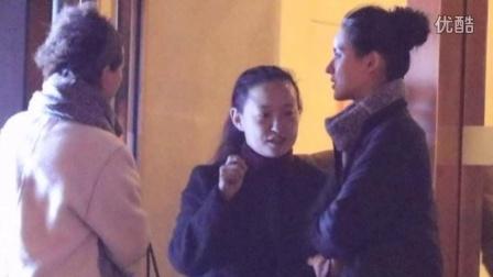 王思聪前女友打车赴饭局 夜约同性蜜友按摩