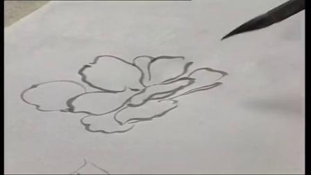水粉画花卉画法图解50种花卉画法