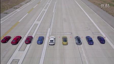 最热的十余款性能量产跑车直线加速大比拼(4)