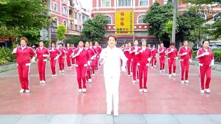 广西龙州县鹤之舞队快乐舞步健身操2015050105