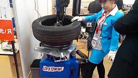 全自动扒胎机自动鸟头,与辅助臂演示教程