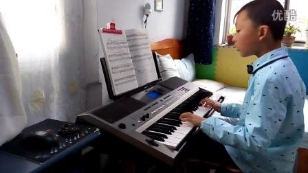 前奏曲 电子琴四级 安睿演奏