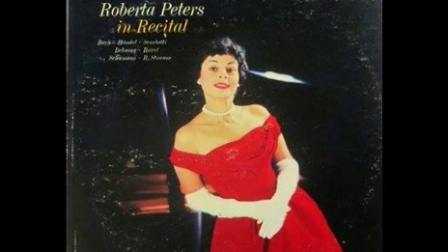 Roberta Peters in Recital