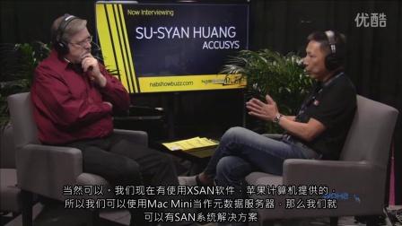 2015 NAB show直播報導--Accusys ExaSAN 世仰A16T2-Share可分享式Thunderbolt存儲設備