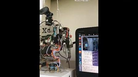 黄志新的双足机器人(2)视觉系统