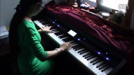 钢琴版《极地特快》