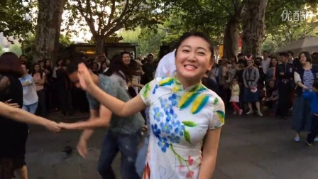 shanghai swing dance at the JZ spring festival 1th May 2015