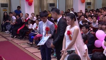 黄晓真&陈希结婚典礼,2015年5月1日,石狮基督教堂