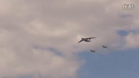 俄空军王牌战机 亮相莫斯科卫国战争胜利70周年阅兵彩排 2015 5.5