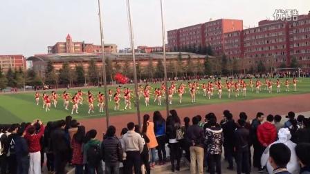 青岛滨海学院集体舞大赛 外国语学院