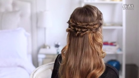 Layered Braid Hair Tutorial