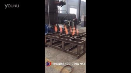 农作物气化炉,生物质气化炉,秸秆气化设备试机视频-捷恒机械