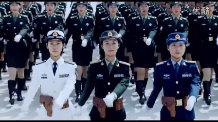 2015俄罗斯红场阅兵首现女兵,来看看中国09年阅兵式女兵的飒爽英姿吧