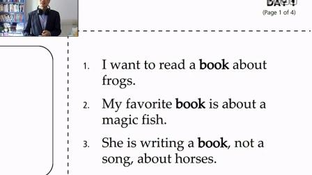 book 书 英语单词读音意思例句