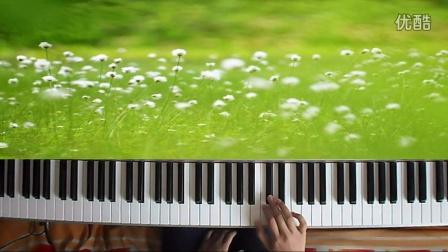 桔梗妹纸钢琴演奏--《辉煌大_tan8.com