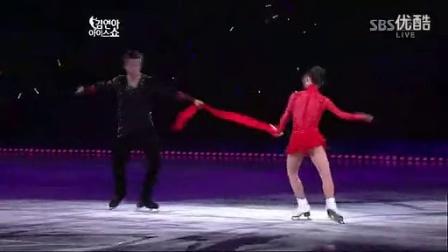申雪赵宏博2011ATS韩国 花样滑冰表演 图兰朵 高清_高清