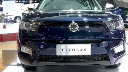 """车展新闻 -双龙汽车  发布小型SUV""""蒂维拉"""""""