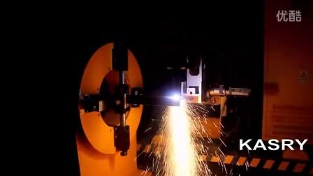凯斯锐相贯线切割机切割槽钢(槽钢切割机)