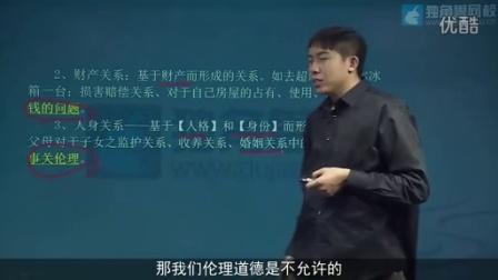 司法考试培训班民法视频第08节民法的含义2-韩祥波