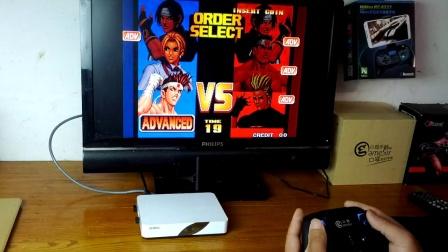 小鸡模拟器二代手柄在安卓盒子上试玩游戏(也支持手机PC和智能电视)