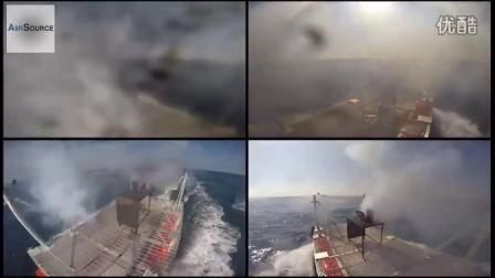 美国海军的激光炮 试验射击