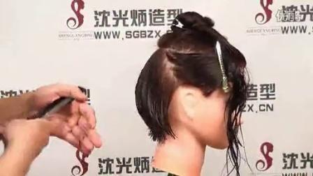 剪发技巧教学