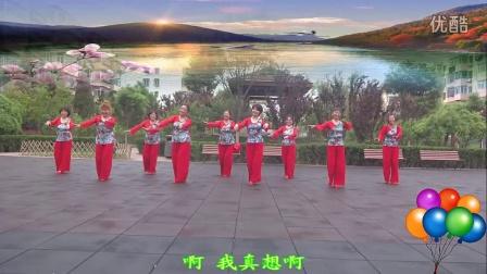 北京朝丽晚霞广场舞《兵哥哥》编舞:杨丽萍