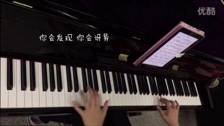 洋葱 钢琴版 猫宁宁宁_tan8.com
