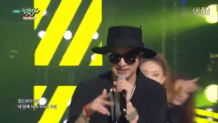 150515 KBS音乐银行 JINUSEAN & 全孝盛全烋星(Secret) - Tell Me One More Time