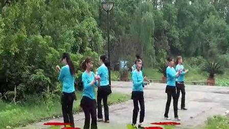 快乐天天广场舞-双人对跳:最炫小苹果