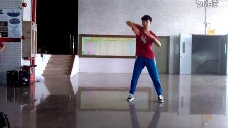 2015佛山一中街舞社社展popping solo