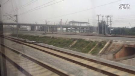 D2367高速通过肇庆东站
