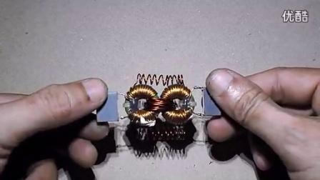 自制小型发电机自由能源磁铁_高清