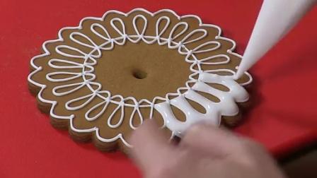 【翻糖】美国超炫3D翻糖饼干制作视频