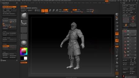 Maya高级影视角色制作中文教程-猴王全流程制作14.UV与贴图烘培